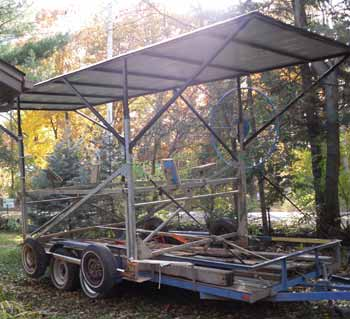 transporting used lift